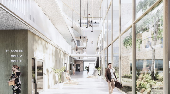 Omega Company House - nyt kontorbyggeri