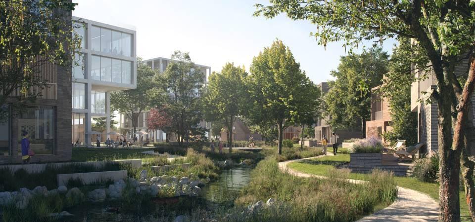 SIMAC er tegnet af C.F. Møller Architects og EFFEKT Arkitekter