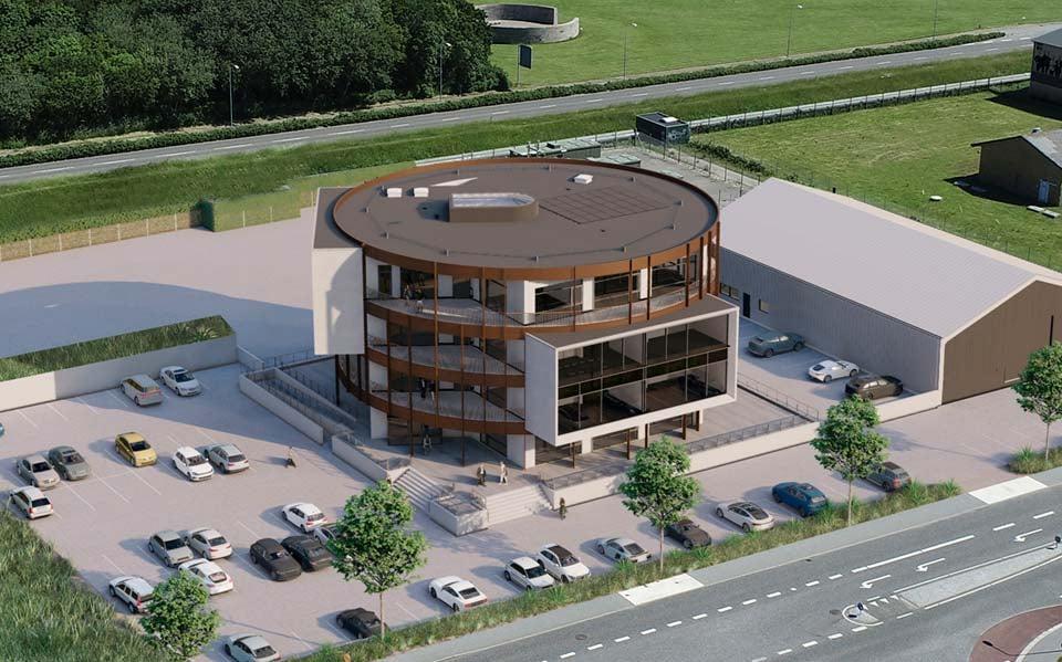 NemByg A/S har som totalentreprenør selv været med til at designe bygningen