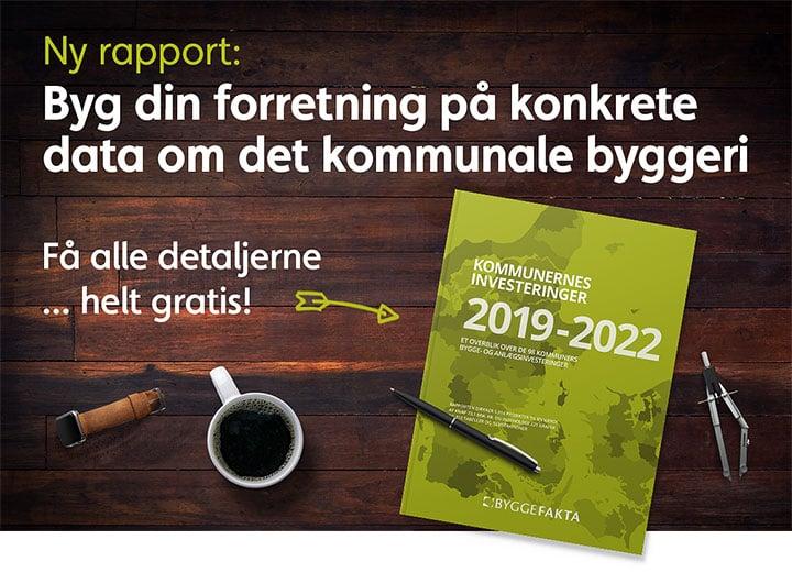 Kommunernes Investeringer 2019-2022