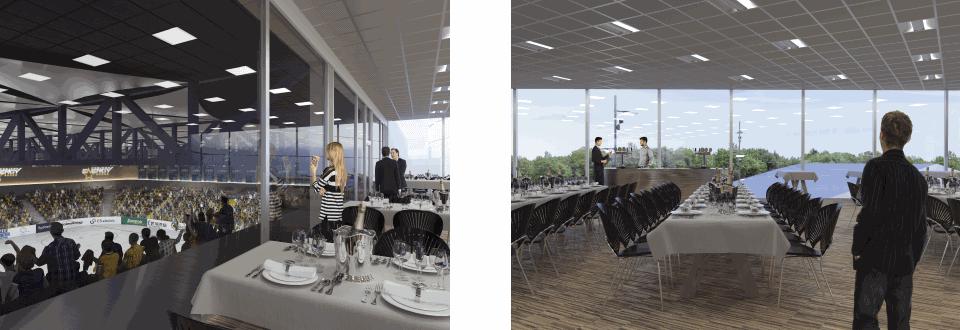 Arkitekt på den nye ishockeyhal er FRIIS & MOLTKE Architects