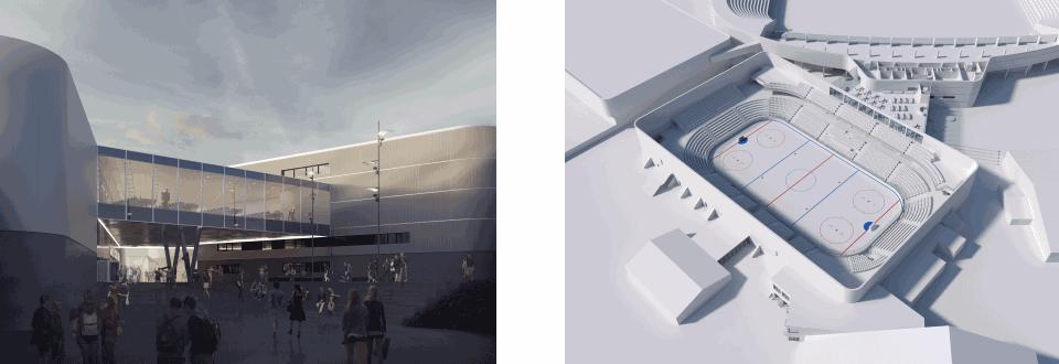 Ny ishockeyhal i Esbjerg