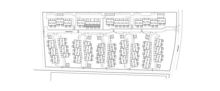 Amaliehavens 84 nye lejeboliger i Seden, Odense Kommune, forventes at stå færdig i efteråret 2020