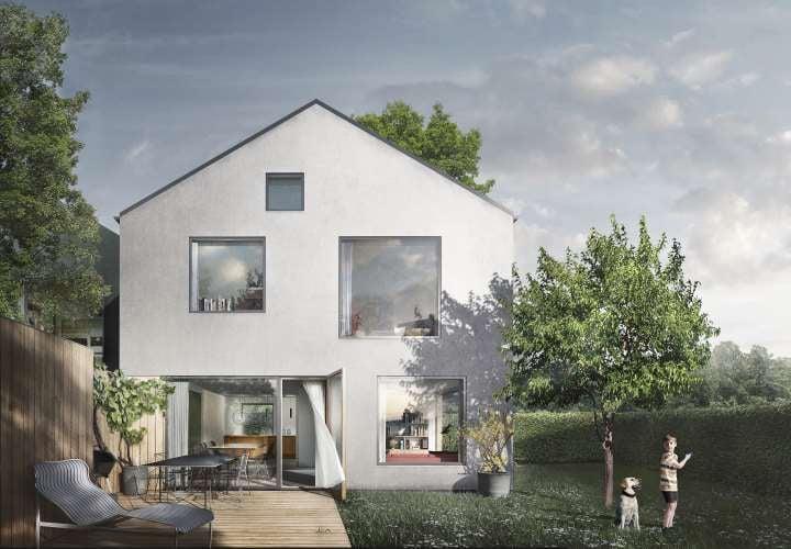 Lokalt arkitektfirma bag 35 nye boliger i Roskilde