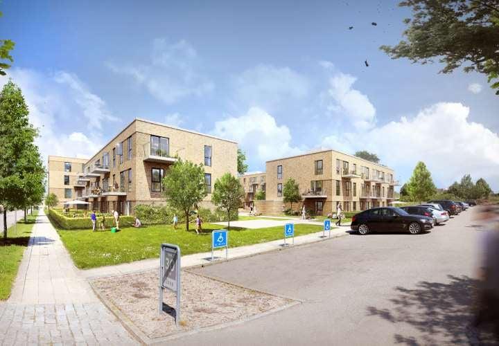 64 nye boliger på Eigtveds Alle ved City2 i Høje Taastrup