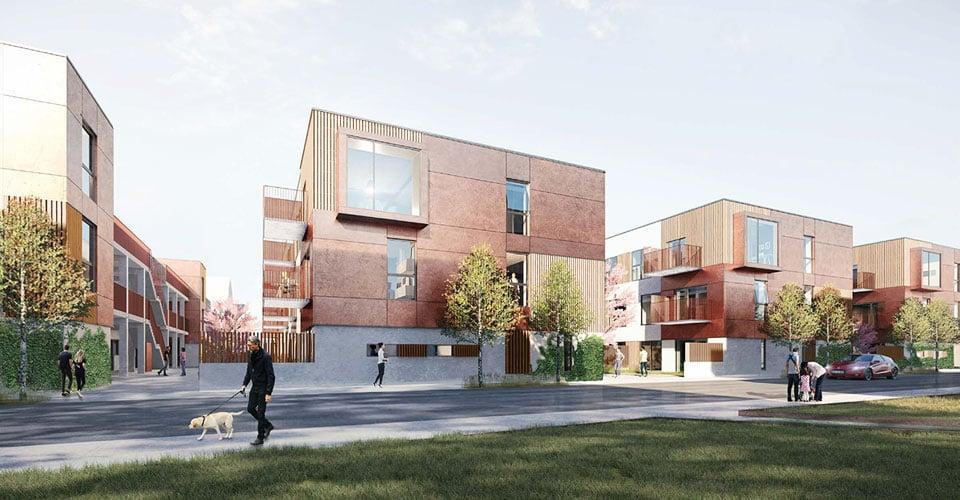 Bådhusene - nye andelsboliger i Fredericia