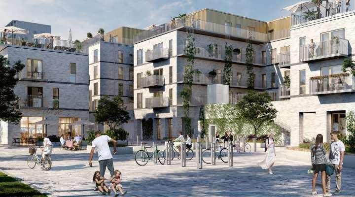 Rødovre Port er tegnet af Arkitema Architects