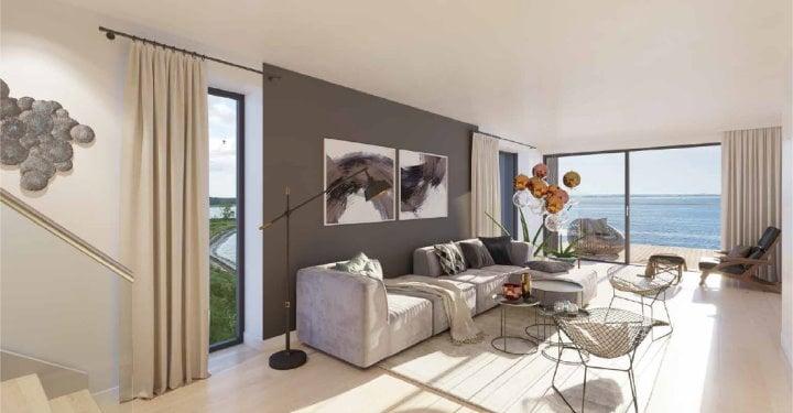 19 luksuslejligheder ved Strøbe Egede