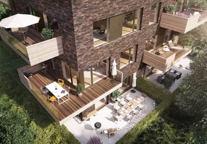 Skovhusene opføres i 2 og 4 etager