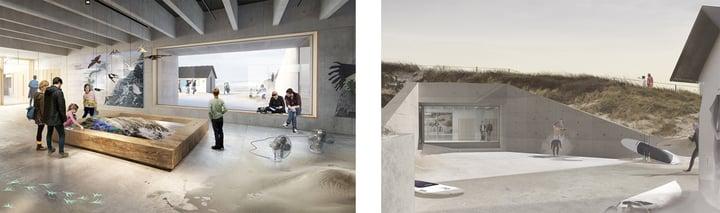 Nationalparkcenter Thys nye formidlingscenter