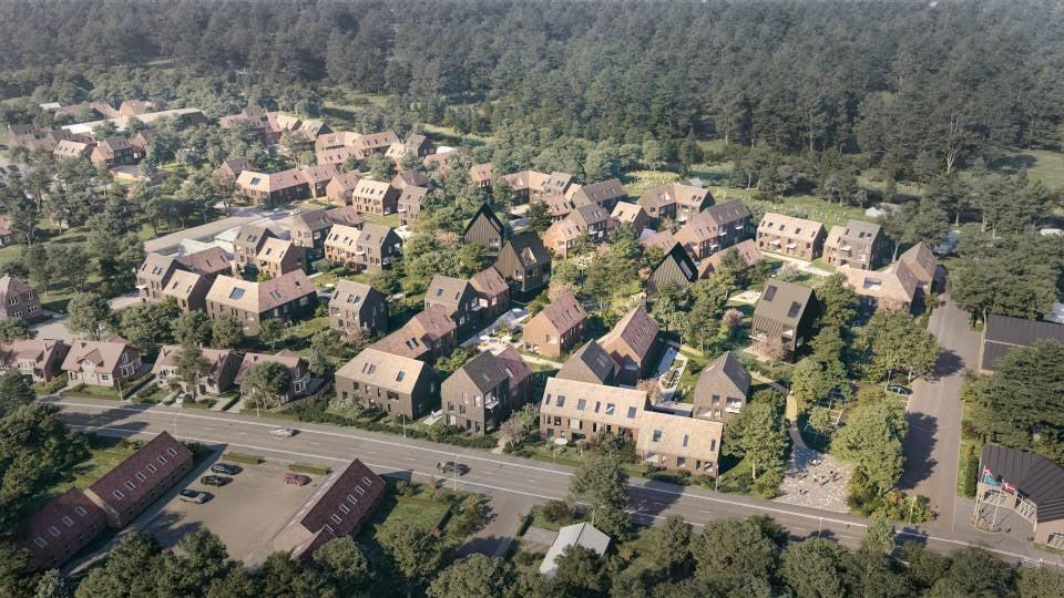 Et nyt boligområde er under udvikling i Nykøbing Falster