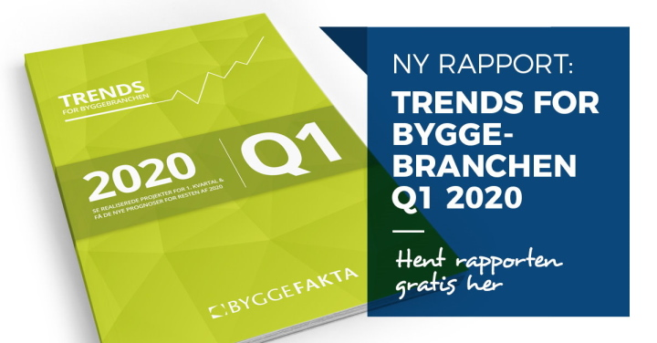 Trends for byggebranchen Q1 2020