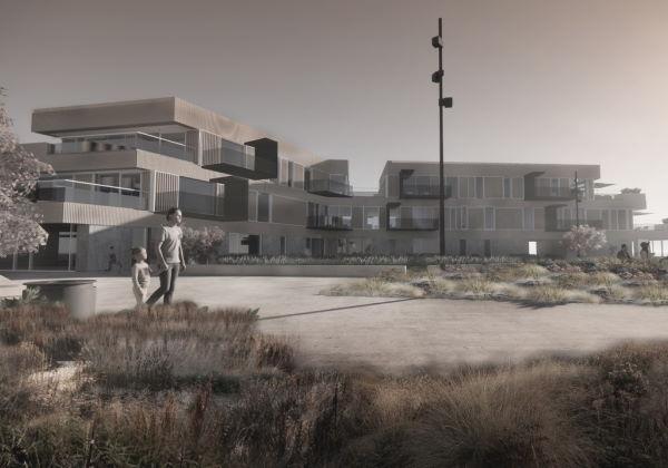 Sydhavnen - nye boliger på havnen i Thisted
