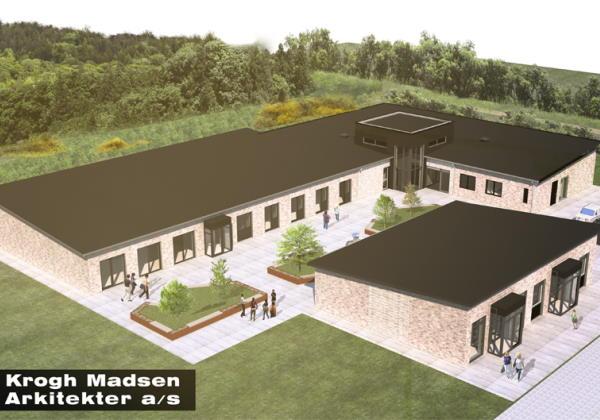 Nyt sundhedshus i Aalestrup